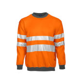 6101 SWEATSHIRT HV ORANGE CL 3 XXL