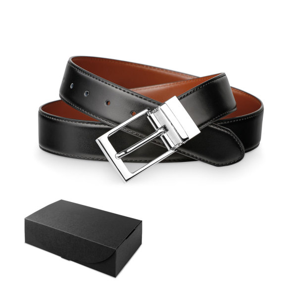 MALINI. Men's leather belt
