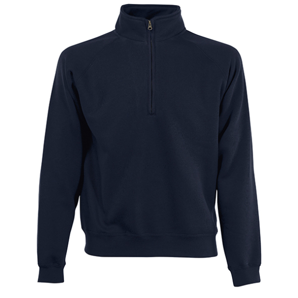 Zip-Neck Sweatshirt