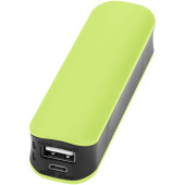 Edge powerbank 2000 mAh - Lime/Zwart