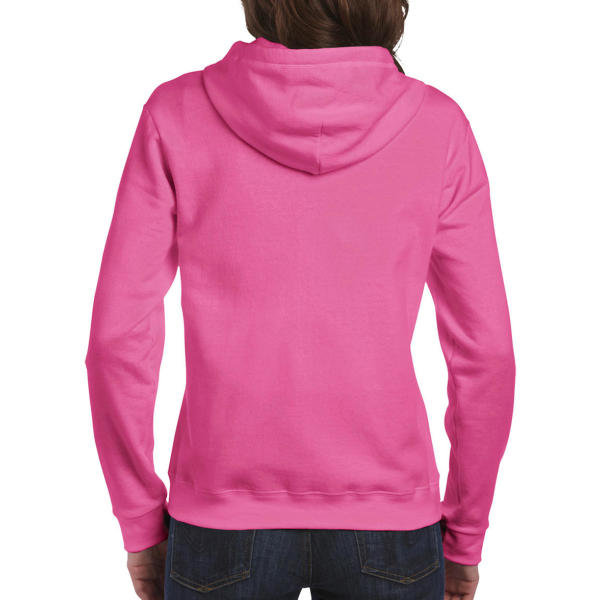 Ladies Heavyweight Full Zip Hooded Sweat