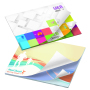 101 mm x 75 mm Alt. Imprint 25 Sheet Ad Notepad White paper