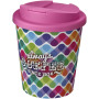 Brite-Americano Espresso® 250 ml with spill-proof lid - White/Pink