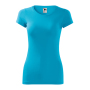 Glance T-shirt Ladies blue atoll XS