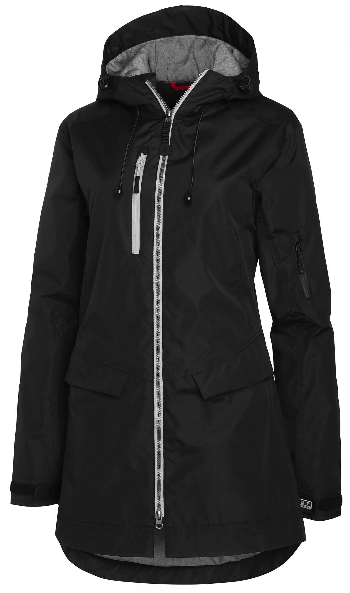 Matterhorn MH-496D Long Shell Jacket Ladies Black 34