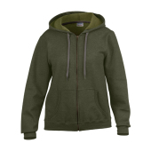 Heavy Blend™ Ladies` Vintage Full Zip Hooded Sweatshirt