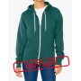 AMA Sweater Hooded Zip Flex Fleece for him Forest Green-35% Korting XS