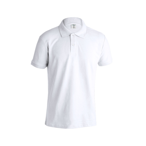 Volwassene Wit Polo Shirt