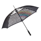 AC regular umbrella Colormagic® - black