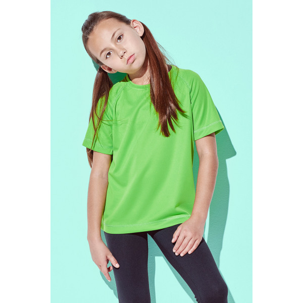 t-shirt mesh active-dry ss for kids
