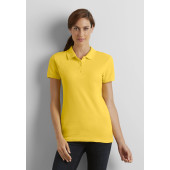 Premium cotton® ring spun semi-fitted ladies' double piqué polo