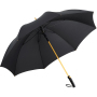 AC alu golf umbrella FARE®-Precious - black/gold