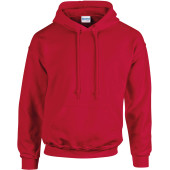 Heavy blend™ classic fit adult hooded sweatshirt cherry red s