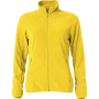 Clique Basic Micro Fleece Jacket Ladies lemon xxl