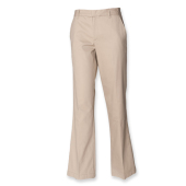 Ladies Chino Trousers with Teflon finish