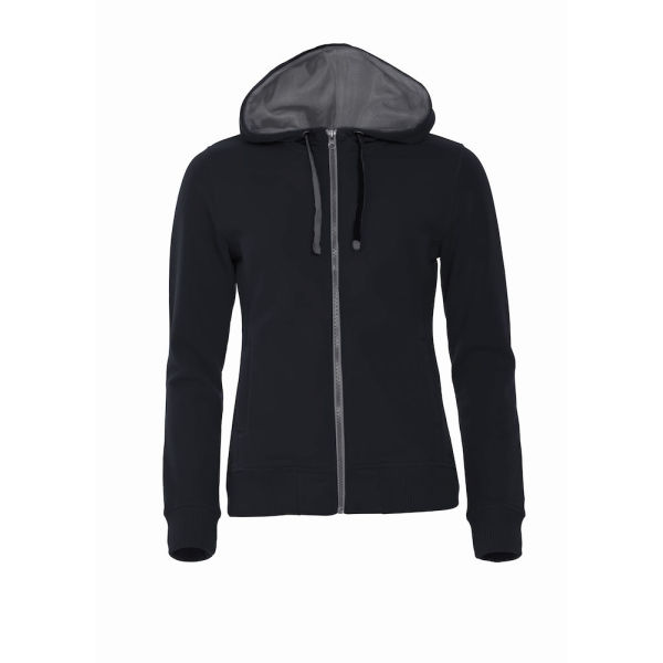 Clique Classic Hoody Full Zip Ladies Sweatshirts