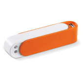 Powerbank Transformer 2200mAh - Wit / Oranje