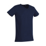 Ben V-neck - Marina Blue