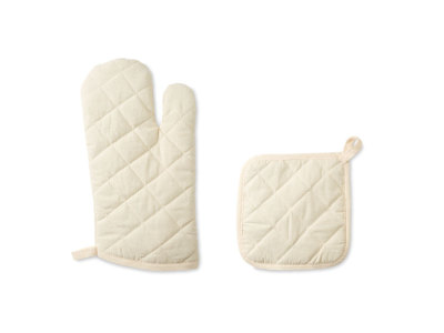 MITTY - Oven glove and pot holder set