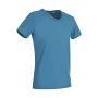 Ben V-neck - Hawaii Blue