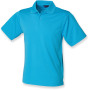 Men´s coolplus® polo shirt turquoise 3xl