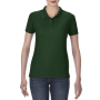 Gildan Polo Performance Double Pique SS for her Forest Green XXL