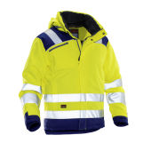 Jobman 1347 Hi-vis winter jacket star geel/navy xs