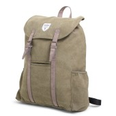 Vintage Canvas Backpack Adventurer Green