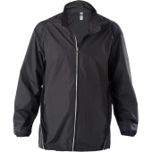 Herenwindbreaker black l