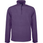 Enzo - fleece met ritskraag purple l