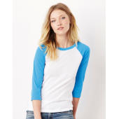 Bella Unisex 3/4 Sleeve Baseball T-Shirt