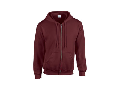 FULL ZIP HOODED SWEAT 18600 - Men's Sweatshirt 255/270 g/m
