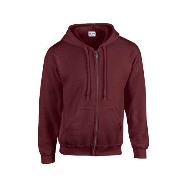 FULL ZIP HOODED SWEAT 18600 - Mannen Sweater 255/270 g/m2