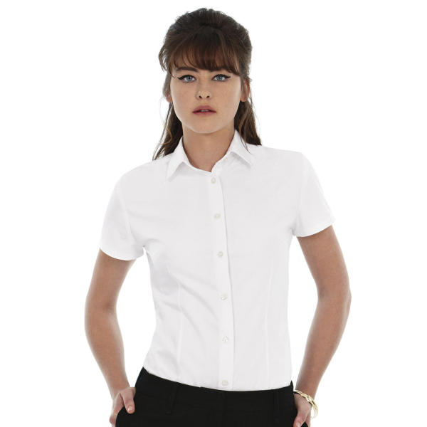 Ladies' Heritage Poplin Shirt - SWP44