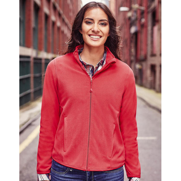 Ladies' Fitted Full Zip Microfleece