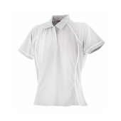 Dames Piped Performance Polo