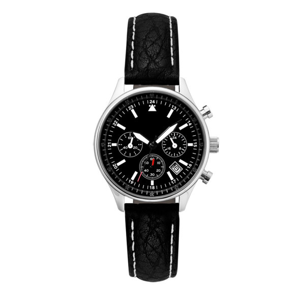 Horloge Perth lady chrono black