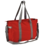Executive shopping/weekend bag - Red, One size