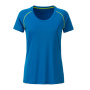 Ladies' Sports T-Shirt felblauw/felgeel