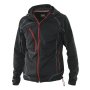 5152 Breathable Hood Jacket black/red 3xl