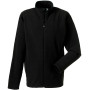 Full zip microfleece black xl