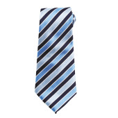 Candy stripe tie navy / blue 'one size