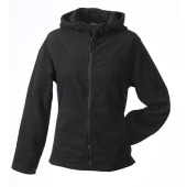 Girly Microfleece Jacket Hooded
