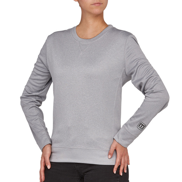Macseis Sweater Crewneck Creator for her Grey Mel