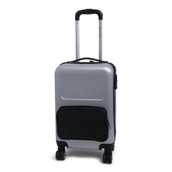 Cabin Size Trolley Customize Business Silver