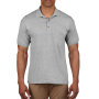 Gildan Polo Ultra Cotton Pique SS Sports Grey S