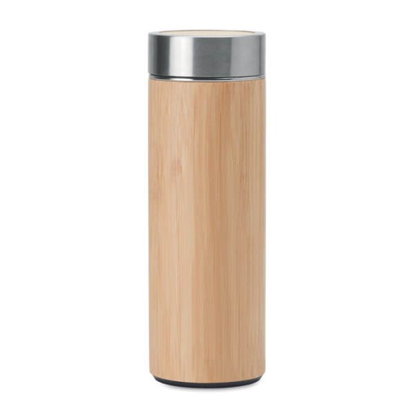 BATUMI - Double wall SS/bamboo bottle