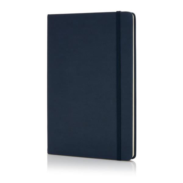 Deluxe hardcover PU A5 notebook, black