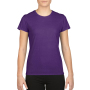 Gildan T-shirt Performance SS for her Purple XS