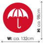 "30"" golf umbrella"